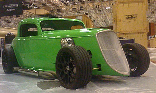 The Gasser - CNG Hot Rod (front view)