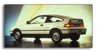 1990 Honda Civic CRX HF: 49 city / 52 highway MPG