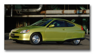 2000 Honda Insight Hybrid: 61 city / 70 highway MPG