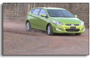 2012 Hyundai Accent small rooster tail