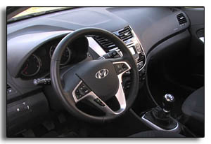 2012 Hyundai Accent interior-manual