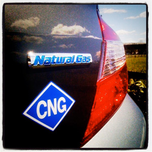 2012 Honda Civic CNG