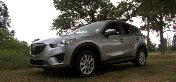 2013 Mazda CX-5 Sport - Liquid Silver Metallic - side view