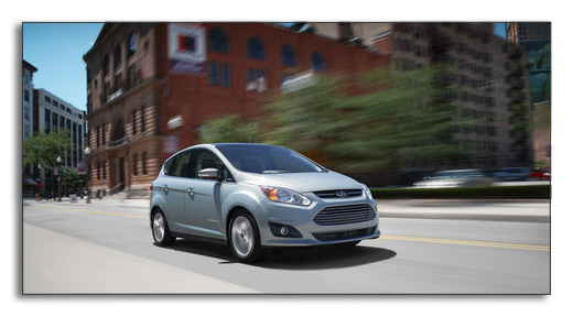 2012 Ford C-Max Hybrid - 3/4 front view