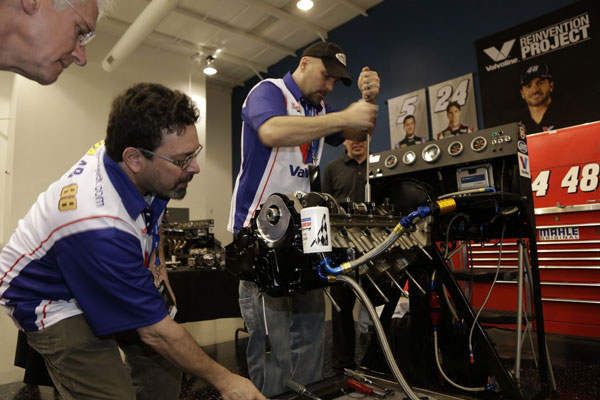 Valvoline Engine Builder's Boot Camp at Hendrick Motorsports