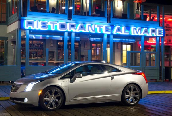 2014 Cadillac ELR out on the town