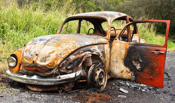 junk beetle with a lovely patina