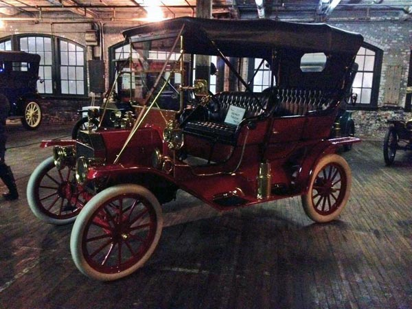 1908 Ford Model T at the Piquette Avenue Plant