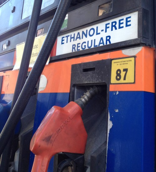 Ethanol Free Gas Pump in Pennsylvania