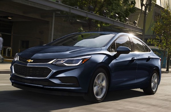 2017 Chevrolet Cruze Diesel Sedan
