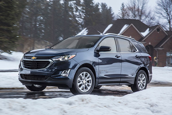 2018 AWD Chevrolet Equinox