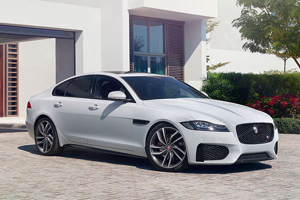 The Jaguar XF is extremely fuel-efficient when equipped with a turbodiesel engine.